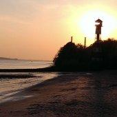 Hamburg Rissen Leuchtturm